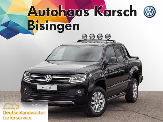 Volkswagen Amarok 2.0 TDI Tiptr. 4-Mot. Canyon AHK, NAVI, Jahr 2016, Diesel