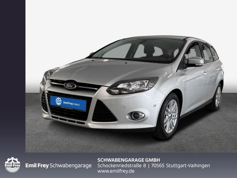 Ford Focus Turnier 1.6 EcoBoost Start-Stopp-System Titanium, Jahr 2013, Benzin