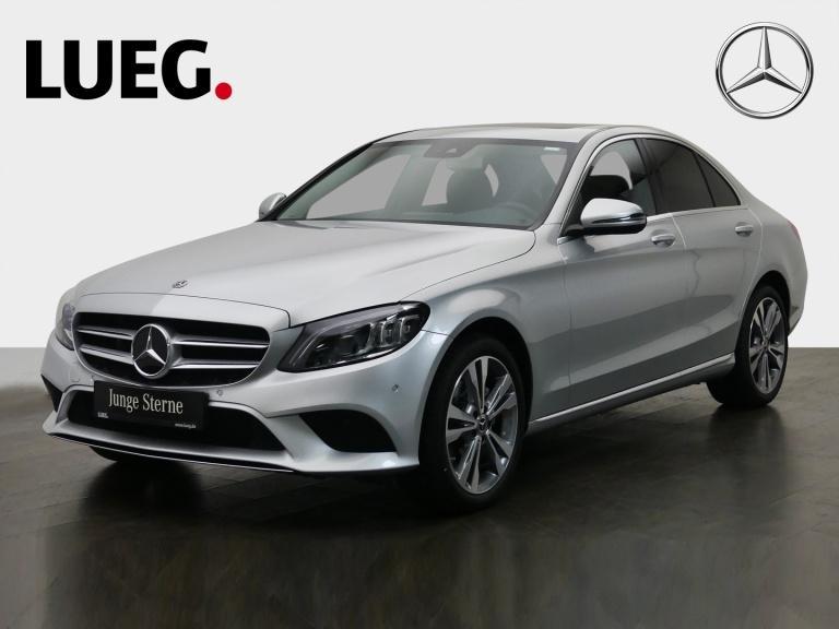 Mercedes-Benz C 200 4M Avantgarde+COM+SHD+Mbeam+Distr+SpurP+18, Jahr 2019, Benzin