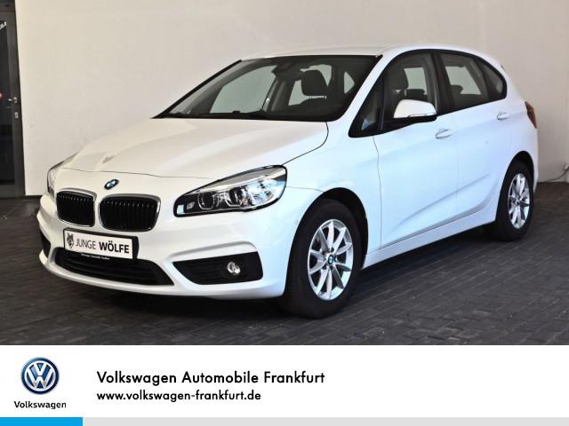 BMW 218 Active Tourer Navi Klimaautomatik Einparkhilfe Sitzheizung, Jahr 2015, Benzin
