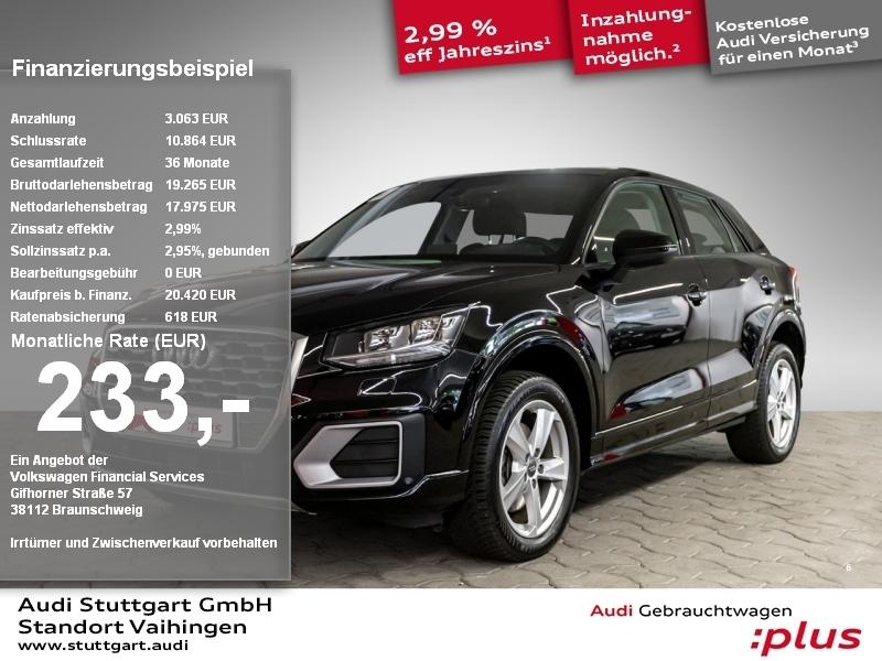 Audi Q2 sport 1.0TFSI Ultra PDC Tempomat Sitzheizung, Jahr 2018, Benzin
