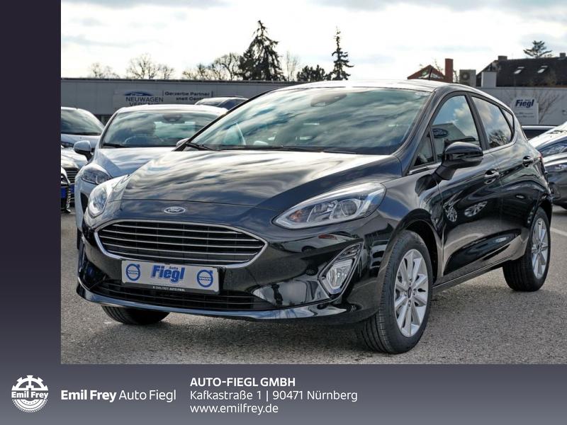 Ford Fiesta 1.0 EcoBoost S&S TITANIUM 70 kW, 5-türig, Jahr 2020, Benzin