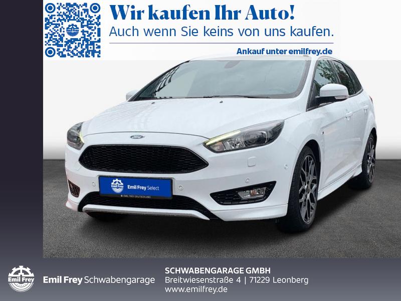 Ford Focus Turnier 1.0 ST-Line *XENON *NAVI *PDC *SHZ, Jahr 2016, Benzin