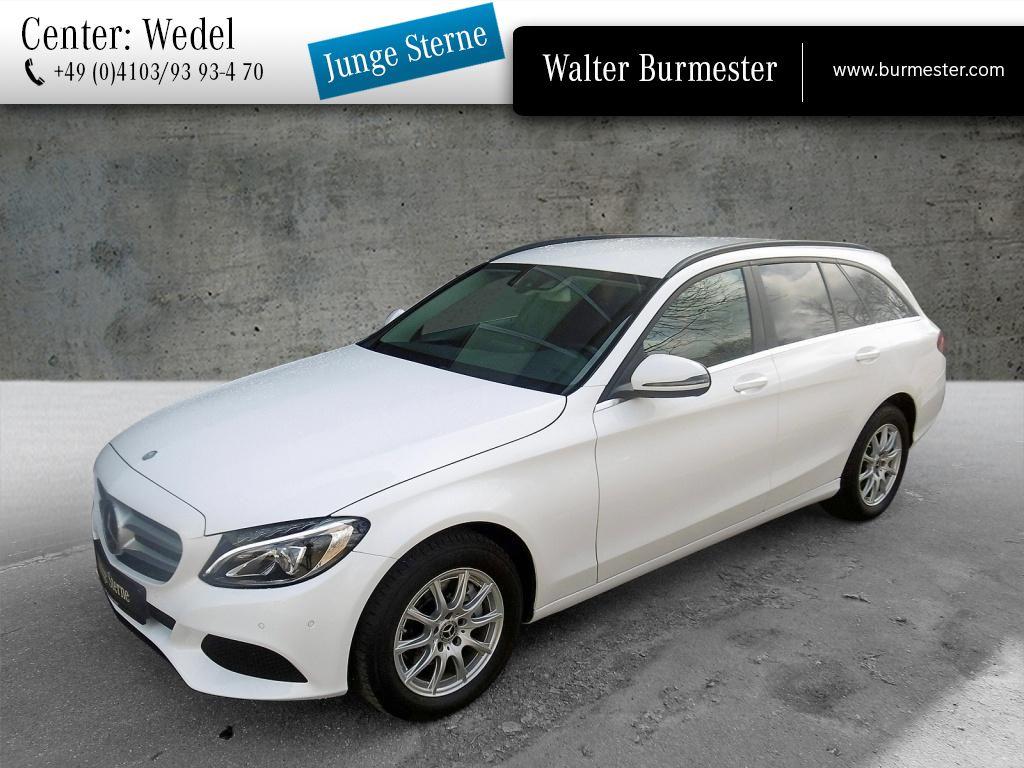 Mercedes-Benz C 200 d T Burmester+Distronic+LED+Standhz+Kamera, Jahr 2017, Diesel