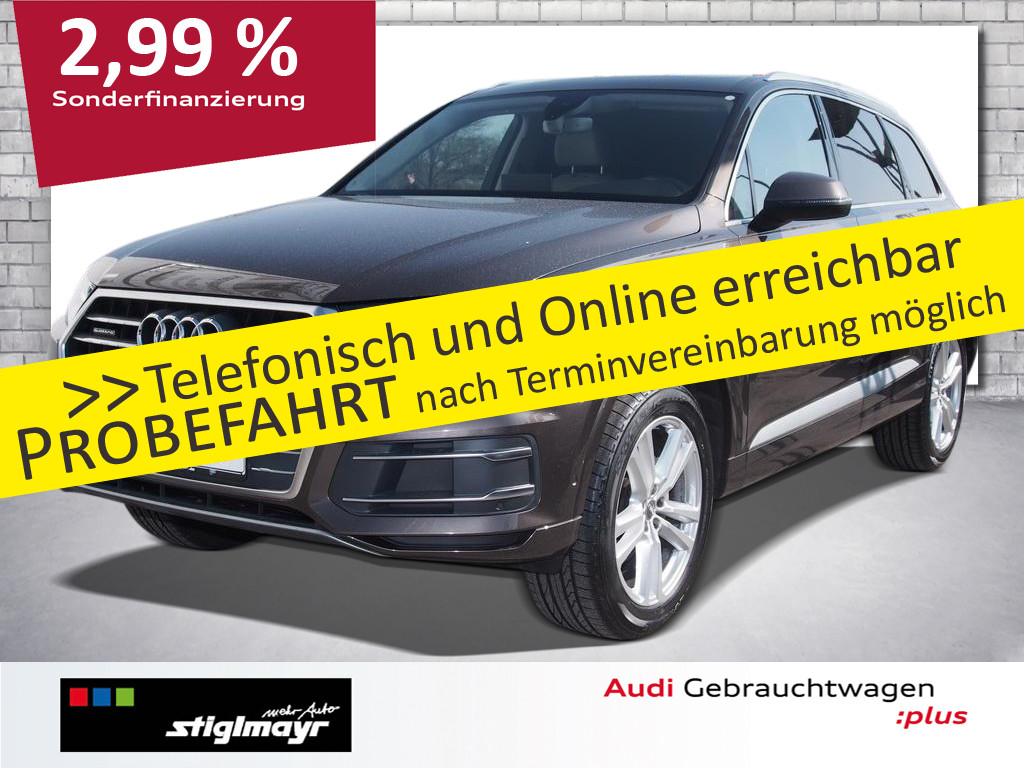 Audi Q7 3.0 TDI quattro AHK+BOSE+NAVI+PANO+STANDHZG, Jahr 2015, Diesel