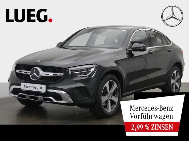 Mercedes-Benz GLC 220 d 4M Coupé EXCLUSIVE+19''+LEDER+SITZKLIM, Jahr 2020, Diesel