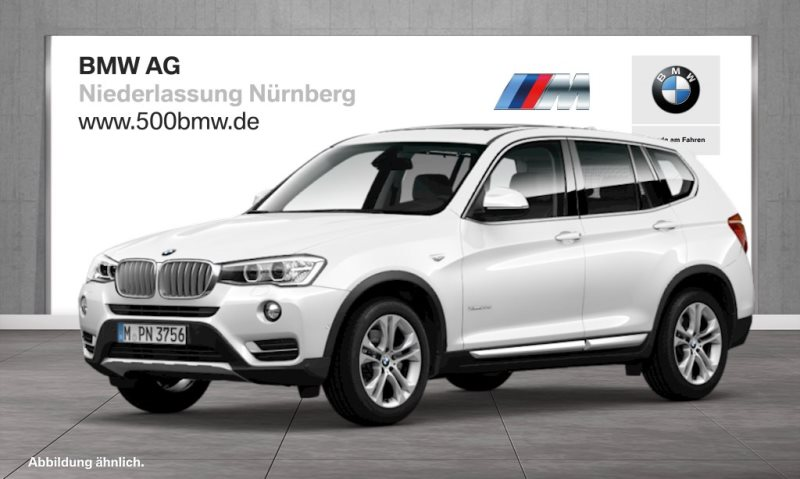 BMW X3 xDrive20d EURO6 xLine HiFi DAB Var. Lenkung Xenon RFK, Jahr 2017, Diesel