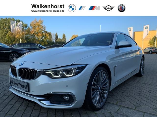 BMW 430 Gran Coupe d Luxury Line EURO 6 Aut LED Hud Panorama Kamera Navi, Jahr 2018, Diesel