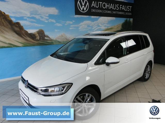 Volkswagen Touran SOUND-Plus UPE 37500 EUR NAVI LED DACH ACC, Jahr 2017, Benzin