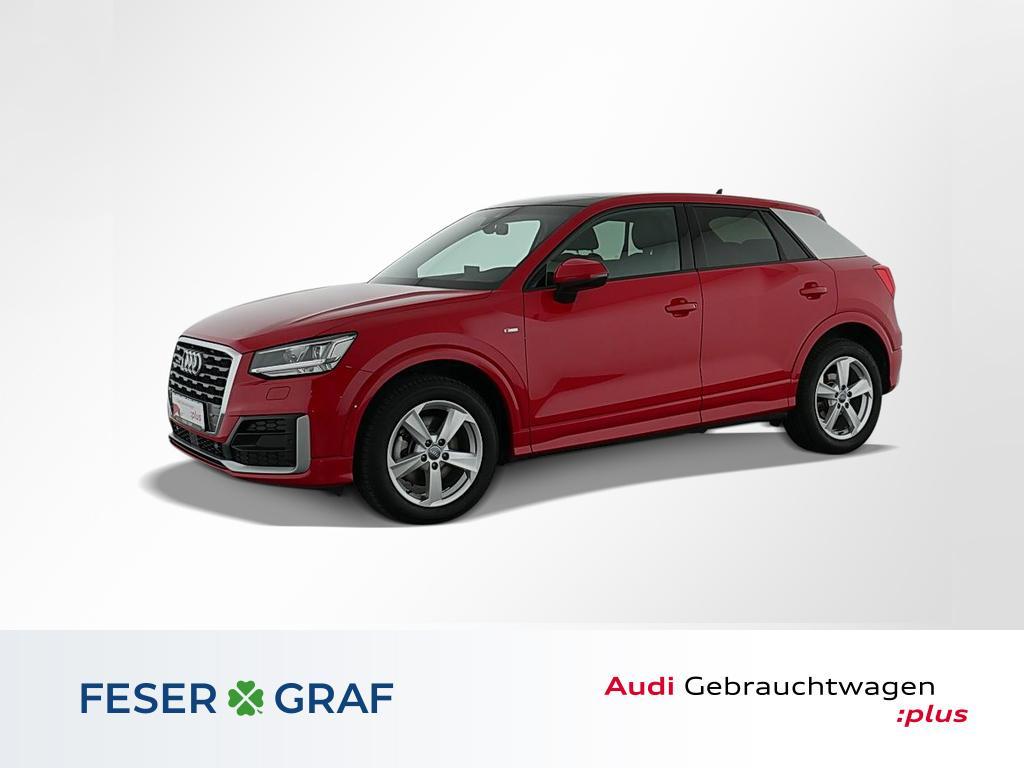 Audi Q2 Sport 35TDI q. S line/LED/ACC/AHK/Pano/17, Jahr 2020, Diesel