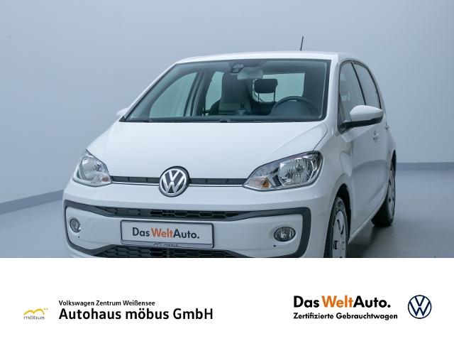 Volkswagen up! 1.0 MOVE UP!**GRA*PDC*BLUETOOTH*USB*SITZHZ**, Jahr 2017, Benzin