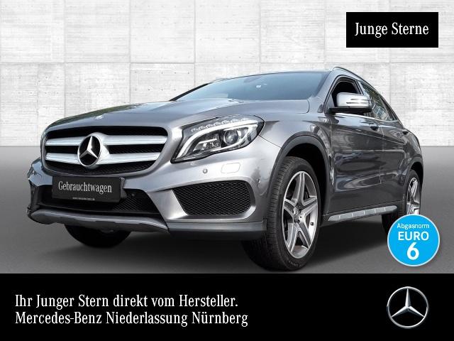 Mercedes-Benz GLA 220 d 4M AMG ILS Navi Laderaump Klimaautom PTS, Jahr 2016, Diesel