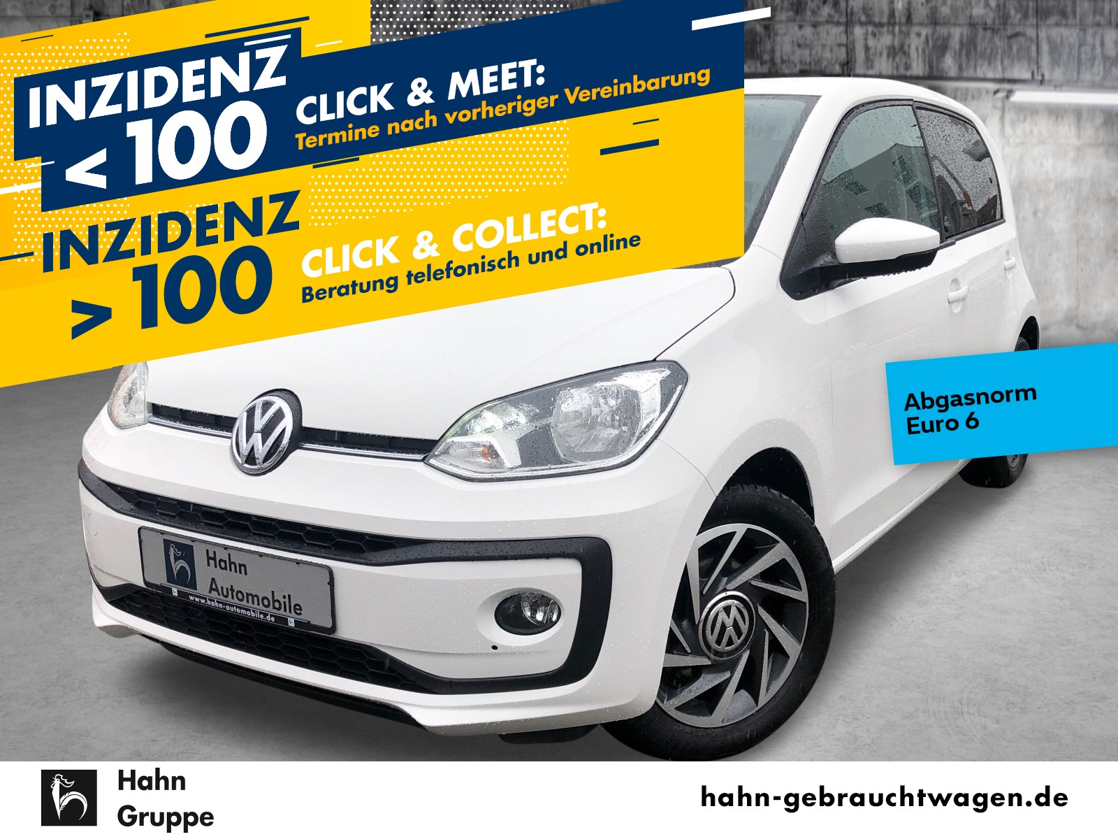 Volkswagen up! move up! 1.0 EU6+ Sitzh Klima Bluetooth, Jahr 2018, Benzin