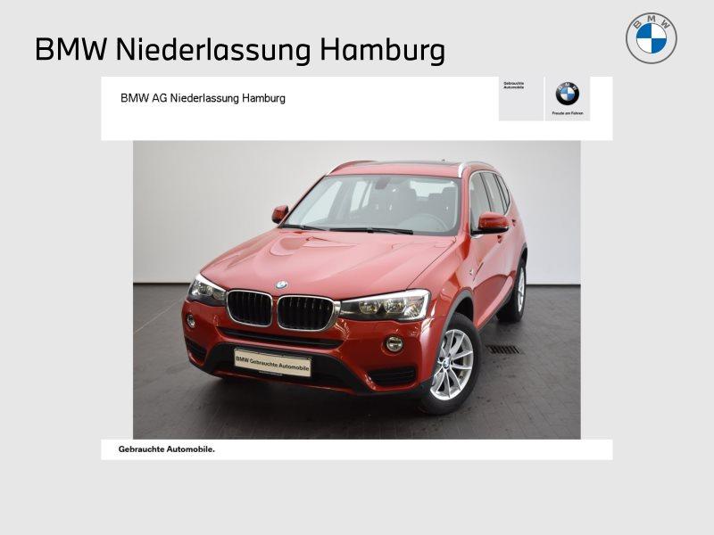 BMW X3 xDrive20d Pano.Dach Navi Bus. Tempomat USB, Jahr 2015, Diesel