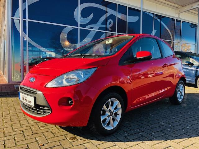 Ford Ka 1.2 C & S Edition *WINTER-PAKET*ALU*KLIMA*AUDIO-CD, Jahr 2016, Benzin