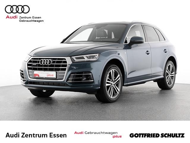 Audi Q5 3.0 TDI quattro sport S-TRONIC LED LEDER PLUS PANO SHZ PDC VO HI FSE MUFU, Jahr 2018, Diesel