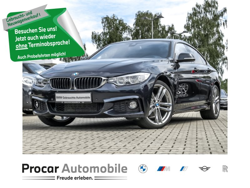 BMW 420d xDrive Gran Coupé M-Sportpaket HuD HiFii, Jahr 2017, Diesel