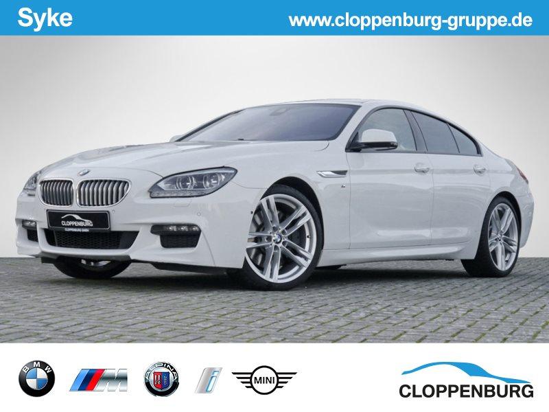 BMW 650i xDrive Gran Coupé M Sportpaket Navi Prof LED PDC Glasdach, Jahr 2012, petrol