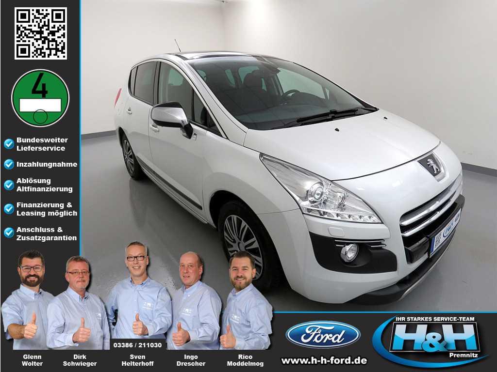 Peugeot 3008 2.0 HDi Hybrid4 (8-fach bereift), Jahr 2012, Hybrid_Diesel