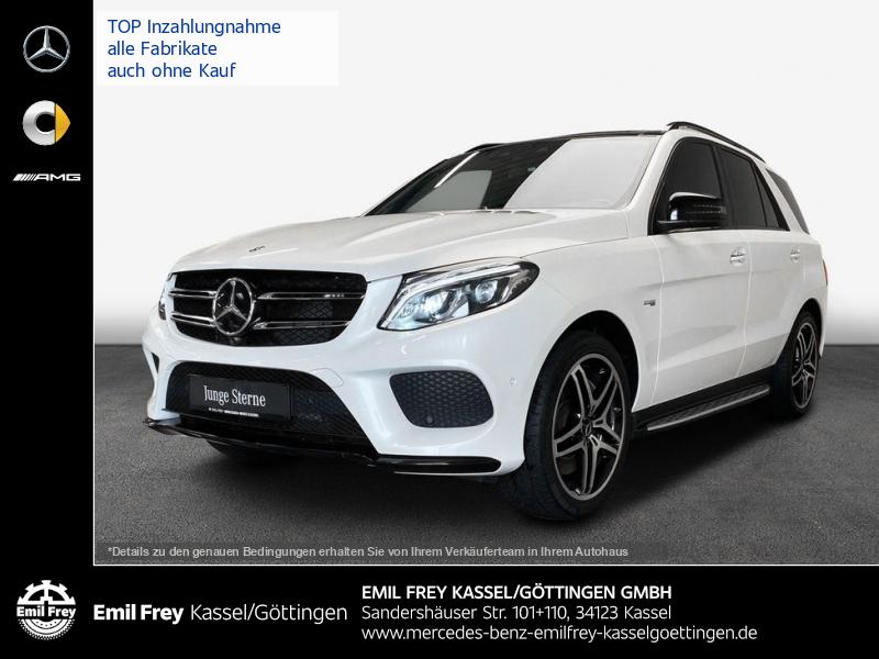 Mercedes-Benz GLE 43 AMG 4M+Night+COM+HiFi+PANO+Distro+ILS, Jahr 2018, Benzin
