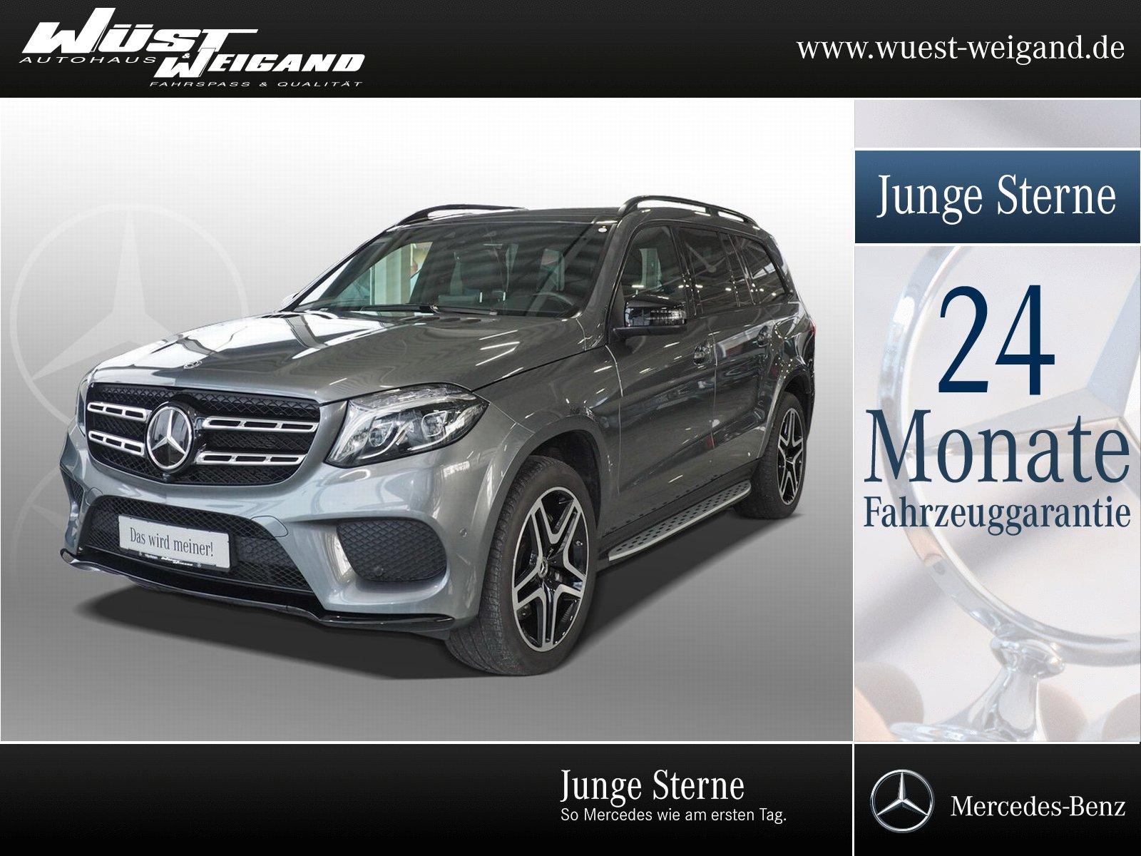 "Mercedes-Benz GLS 400 4M AMG-Line 21""+Memory+Navi+ILS+AHK+PTS, Jahr 2017, petrol"