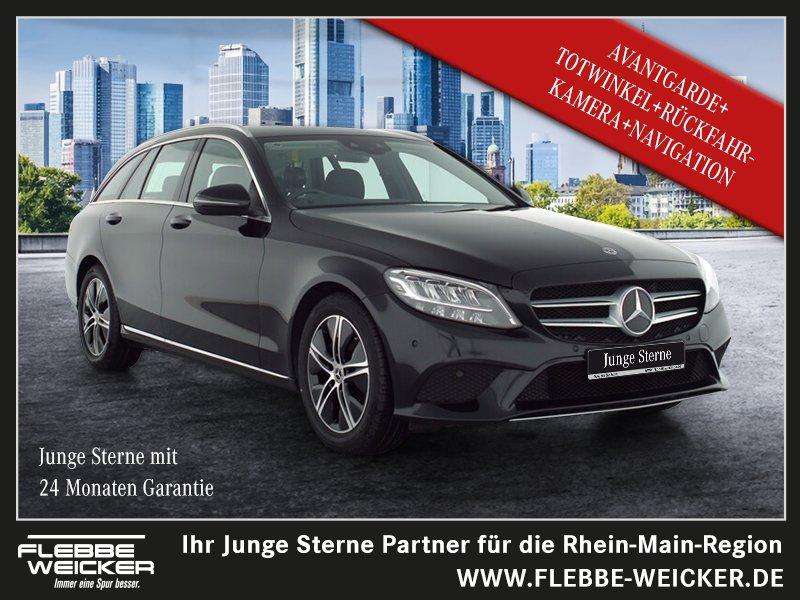 Mercedes-Benz C 220 d T AVANTGARDE+AHK+TOTWINKEL+RÜ.-KAM.+NAVI, Jahr 2020, Diesel