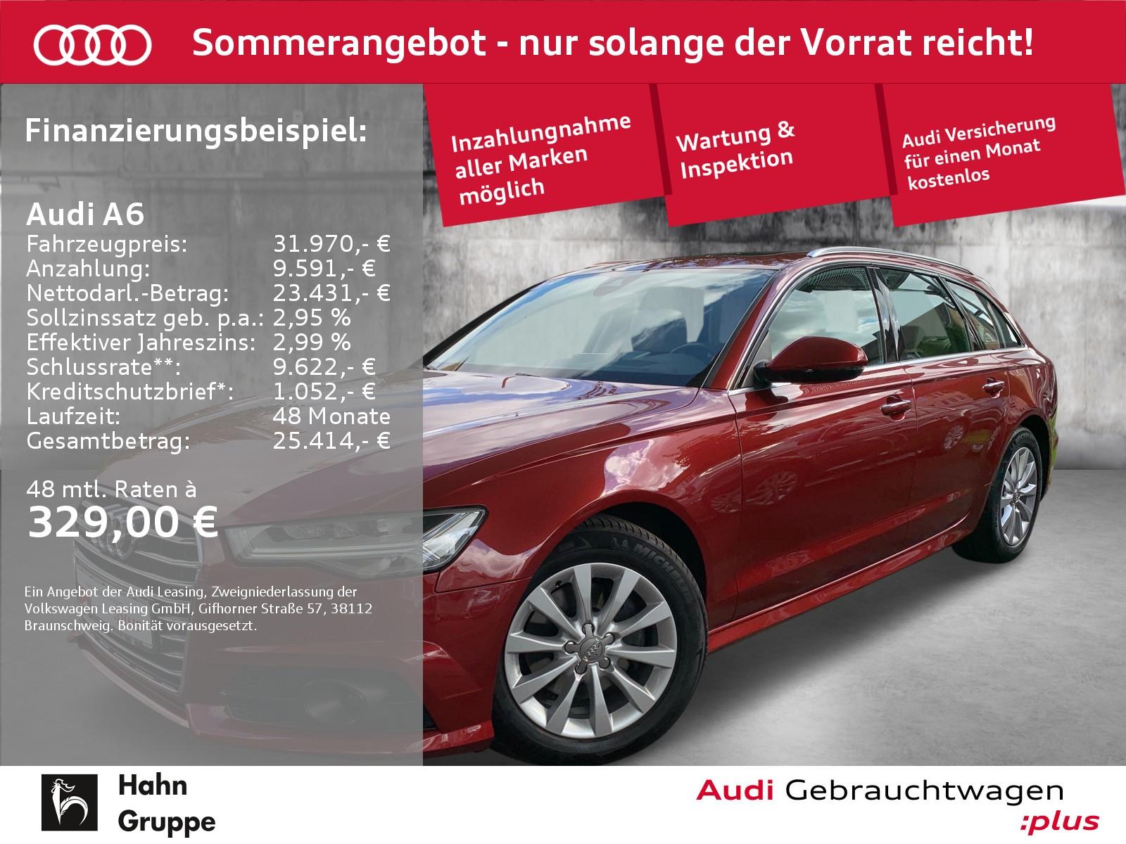 Audi A6 Avant 2.0 TDI qua. Navi LED CAM ACC Sitzh, Jahr 2018, Diesel