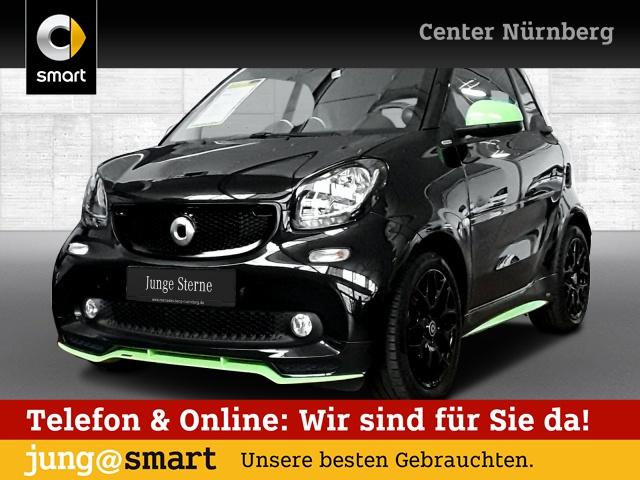 smart fortwo coupé 66kW prime BRABUS tailor made DCT, Jahr 2016, Benzin
