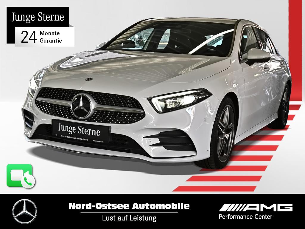 Mercedes-Benz A 220 d AMG Navi Distro Kamera Sound LED AHK, Jahr 2020, Diesel