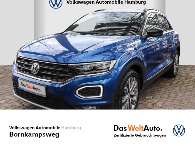 "Volkswagen T-Roc 2,0 TSI sport 4MOTION DSG,PANO,DAB,NAVI,18"", Jahr 2018, petrol"