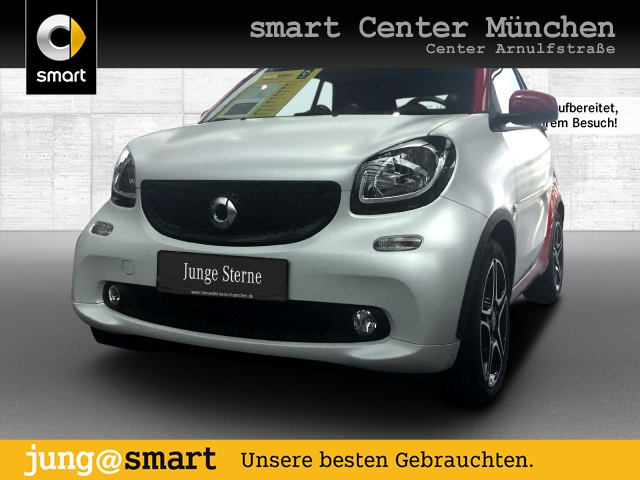 smart fortwo cabrio 66kW prime BRABUS DCT Sport SHZ LED, Jahr 2017, Benzin