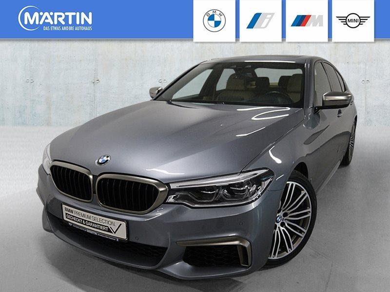 BMW M550i xDrive Limousine *Head-Up*HK-HiFi*DAB*LED*RFK*Navi.Prof.*, Jahr 2018, Benzin