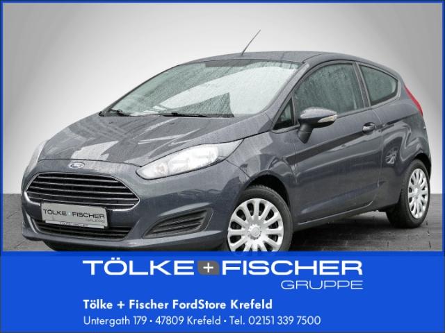 Ford Fiesta Trend 1.25L 44KW Multif.Lenkrad NR Knieairbag Klima CD AUX USB ESP Spieg. beheizbar, Jahr 2014, Benzin