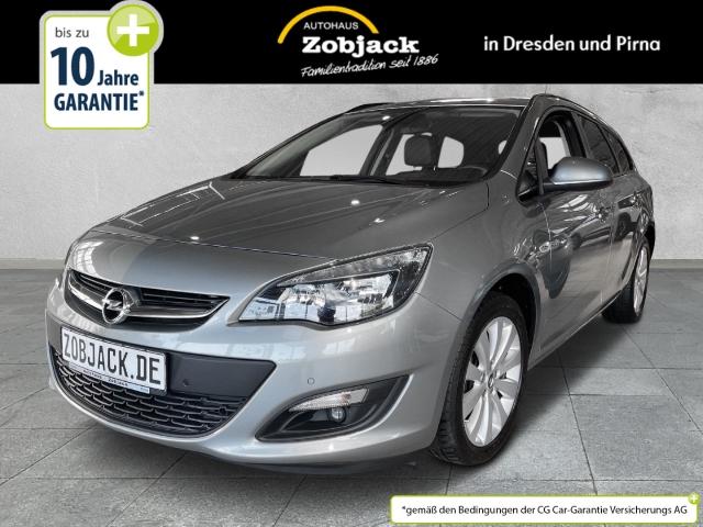 Opel Astra J ST Style 1.4T SHZ Klimaautomatik PDC v+h, Jahr 2015, Benzin