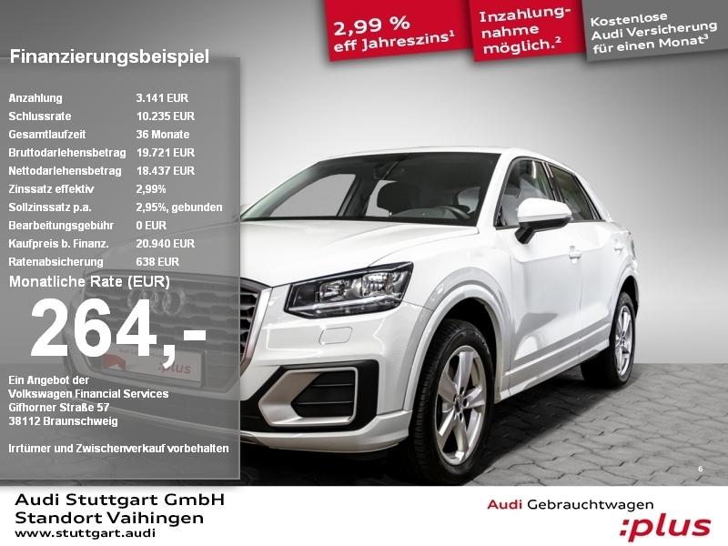 Audi Q2 sport 1.0 TFSI Navi PDC Tempomat Sitzheizung, Jahr 2018, Benzin