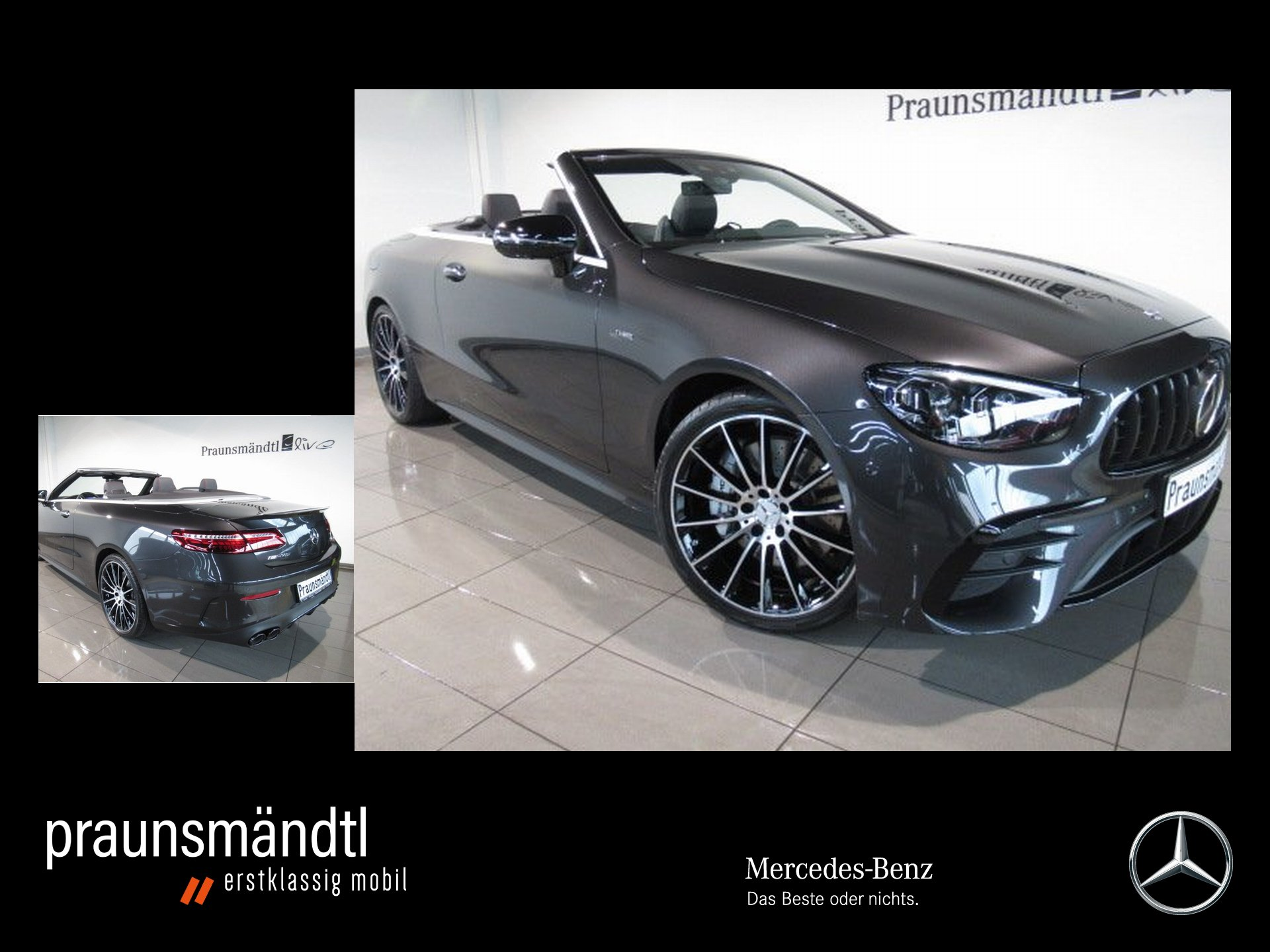Mercedes-Benz AMG E53 4M Cabrio MULTIBEAM/Sta.Hzg./DISTRO./20, Jahr 2020, Benzin