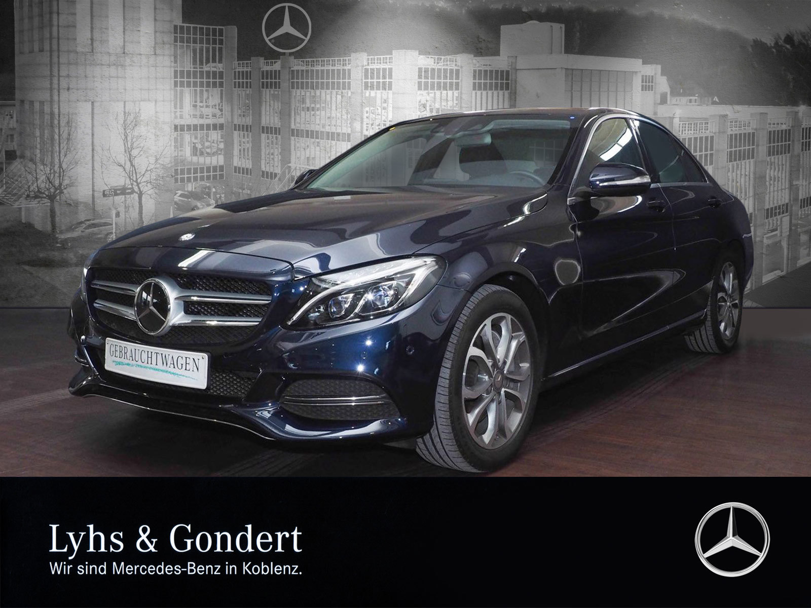 Mercedes-Benz C 250 Avantgarde Distronic Pano.-Dach LED Memory, Jahr 2014, Benzin
