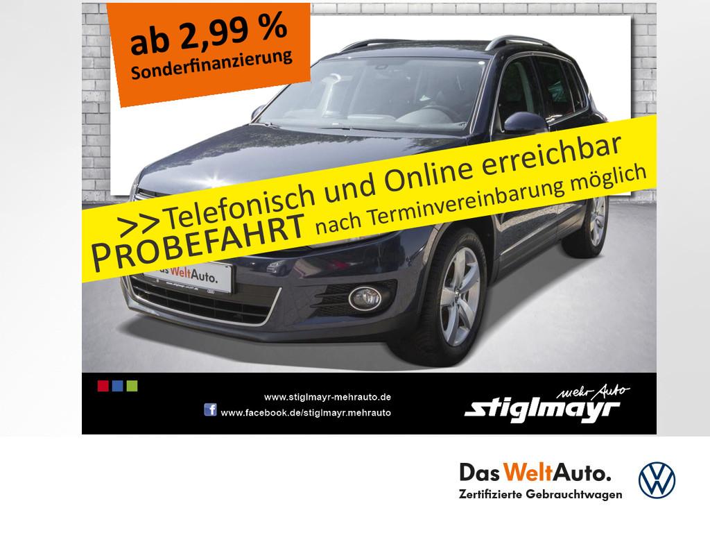 Volkswagen Tiguan Sport & Style 1.4 TSI AHK+NAVI, Jahr 2014, Benzin