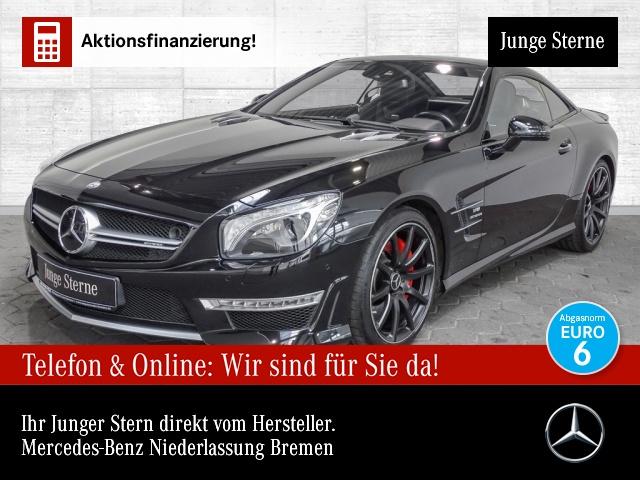 """Mercedes-Benz SL 63 AMG Fahrassist. Pano Burmester 20"""" Perform, Jahr 2015, petrol"""