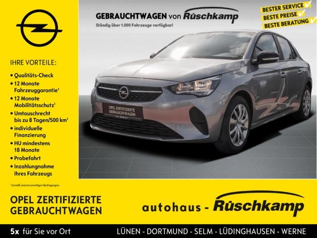 Opel Corsa F Edition 1.2 EU6d Navi Rückfahrkam. PDC, Jahr 2020, Benzin