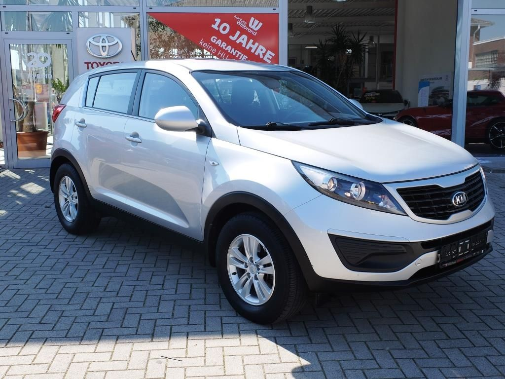 Kia Sportage 1.7 CRDi, Top Seller, 2WD Attract, Jahr 2013, Diesel