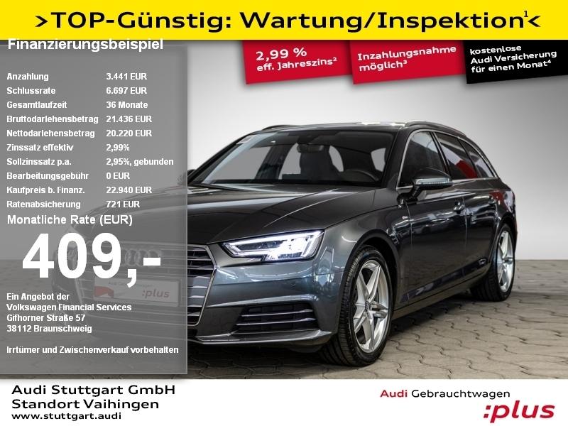 Audi A4 Avant 1.4 TFSI S line Navi VirtualCockpit LED, Jahr 2017, Benzin