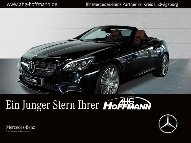 Mercedes-Benz SLC 43 AMG+Pano+LED+Airscarf+SpurP+Distr+Comand, Jahr 2016, Benzin