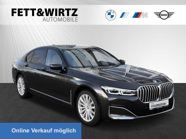 BMW 750d xDrive HUD TV+ Laser GSD H/K DA Prof., Jahr 2020, Diesel