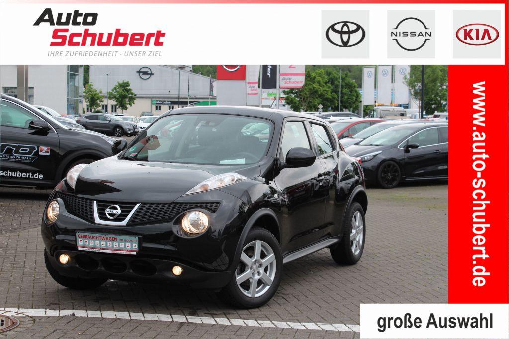Nissan Juke 1.6 Acenta+BT+Klima+CD+USB+Klimaautomatik+Freisprech, Jahr 2014, Benzin
