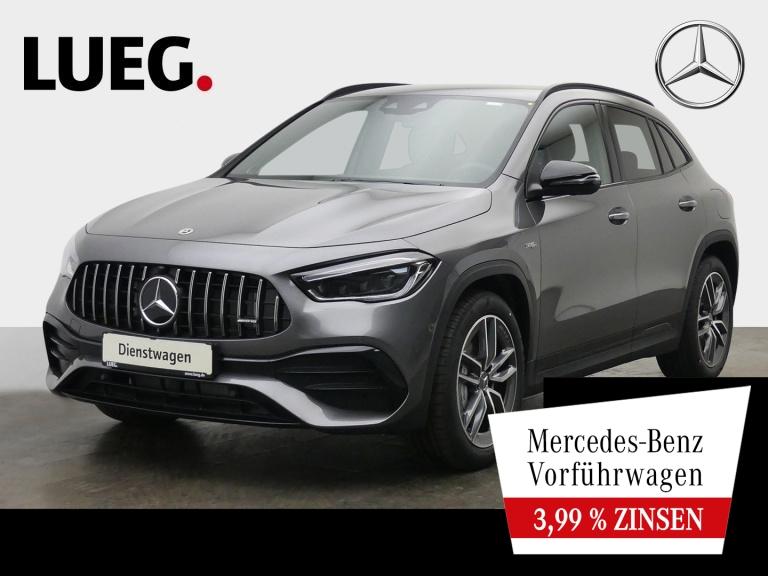 Mercedes-Benz GLA 35 AMG 4M NIGHT+360°+TOTW+BURMESTER+MULTIB., Jahr 2021, Benzin