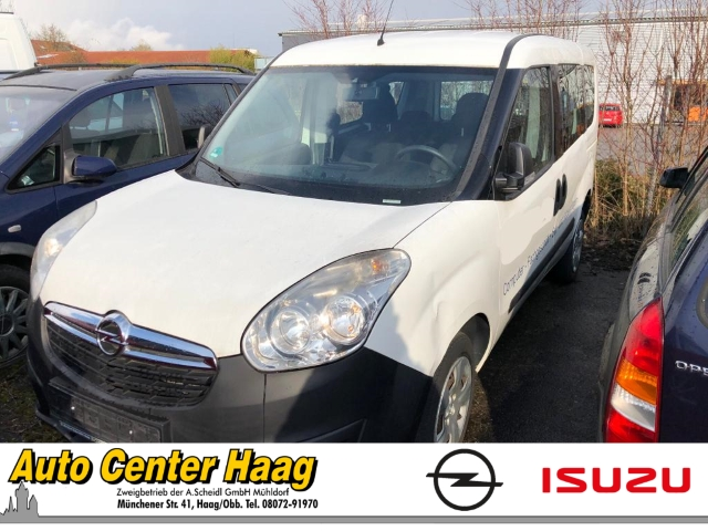 Opel Combo D Selection L1H1 1.6 CDTI RDC Klima CD ESP DPF Gar. Radio TRC Airb ABS Servo ZV beschädigt, Jahr 2015, Diesel