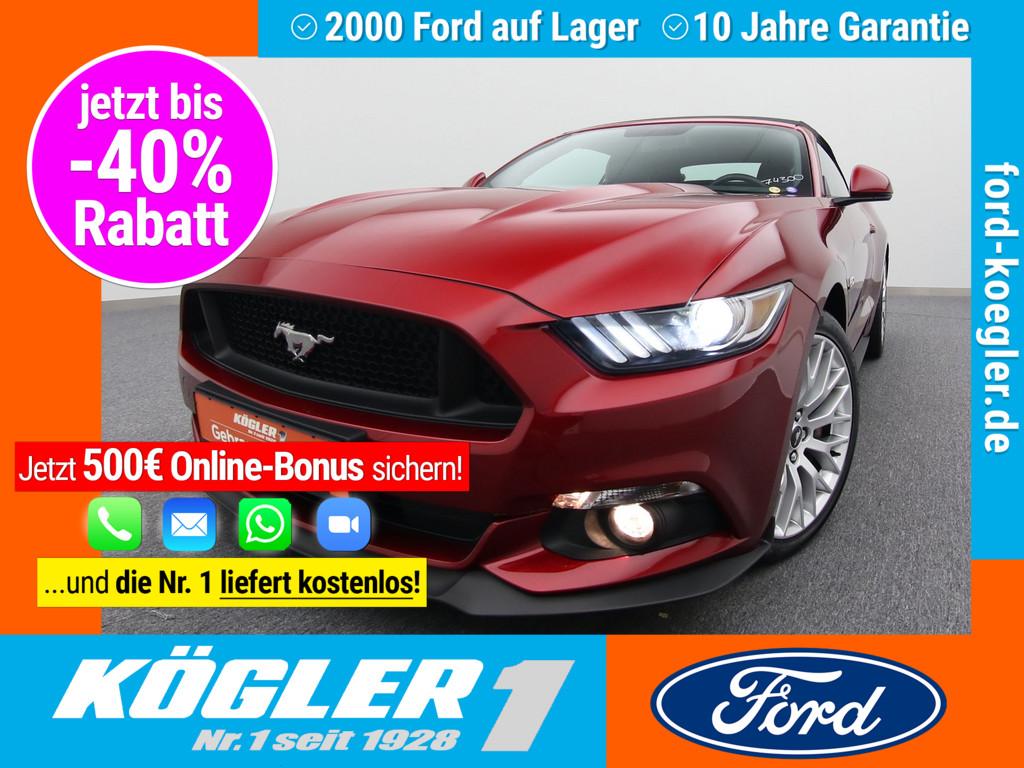 Ford Mustang Cabrio GT 5.0 V8/Premium-Paket, Jahr 2017, Benzin