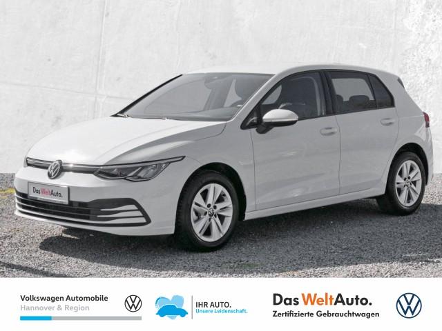 Volkswagen Golf VIII 1.5 TSI Life Navi LED Klima ACC PDC Sitzhz, Jahr 2020, Benzin