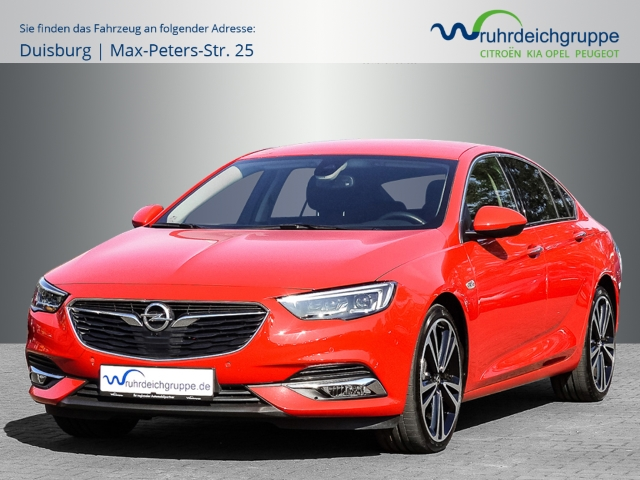 Opel Insignia B GS INNOVATION 4x4 2.0 T+Aut+Leder+LED+, Jahr 2017, Benzin